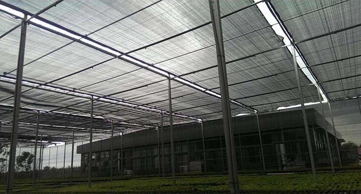 lưới che nắng Đài Loan sợi tròn chất lượng cao
