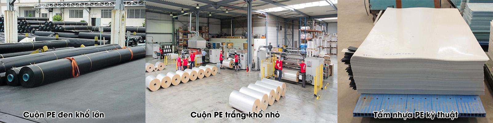 nhựa công nghiệp PE tấm và cuộn