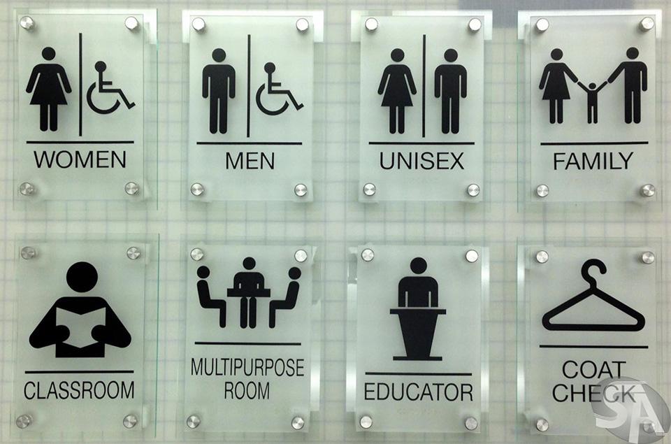 39+ mẫu biển wc, restroom, nhà vệ sinh toilet Nam/Nữ đẹp 2020