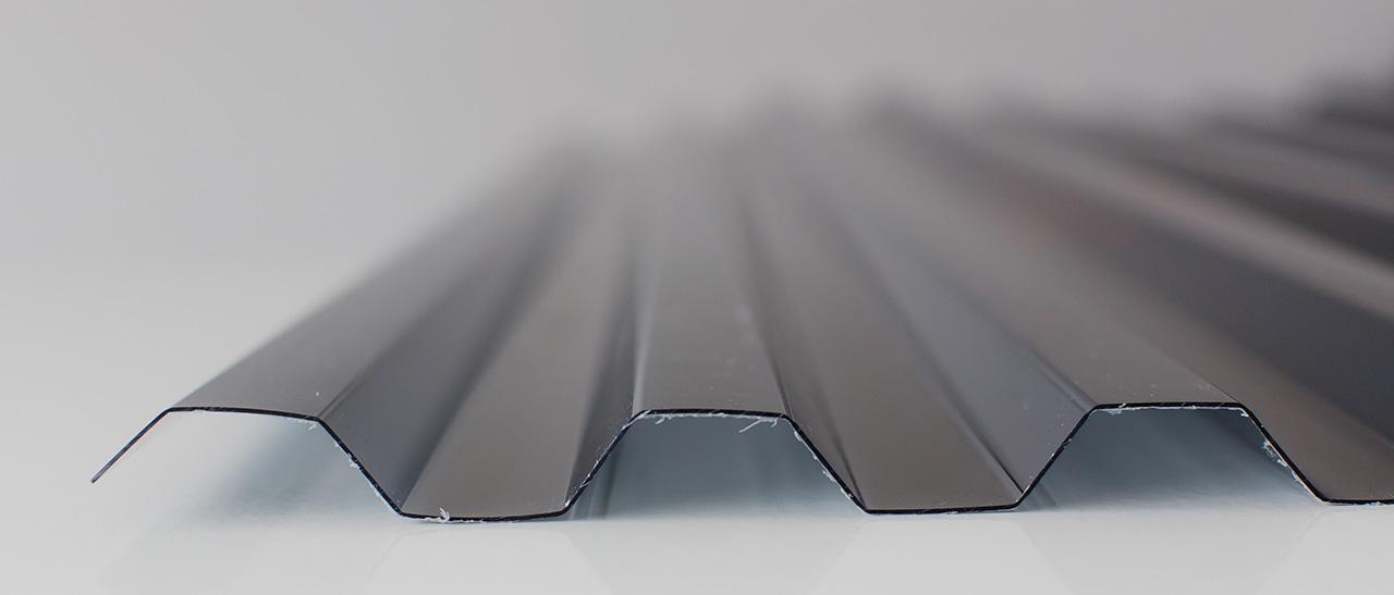 Tấm nhựa PC dạng sóng vuông