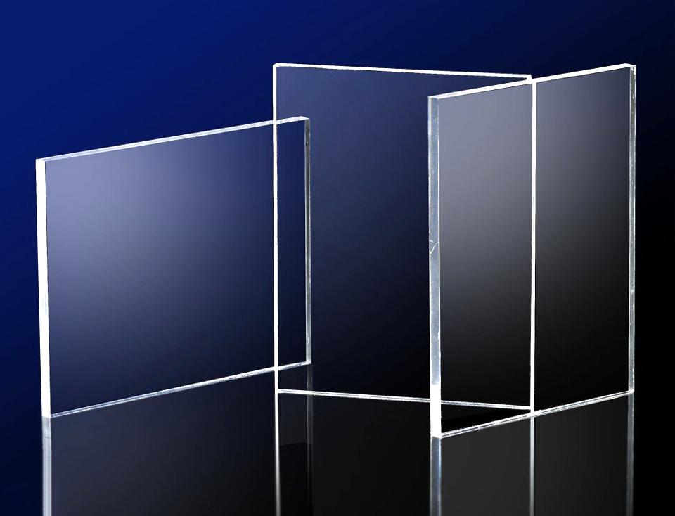 Tấm nhựa mica màu trắng trong, mica trong suốt như kính