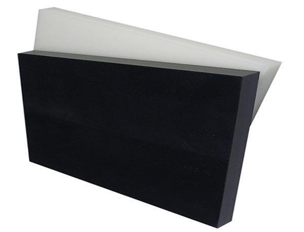 Tấm nhựa POM kỹ thuật chống tĩnh điện màu trắng và đen